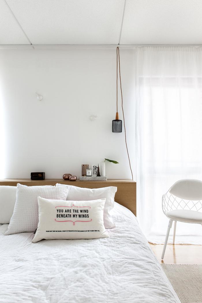 decoración, escandinavo, blanco, sencillez, minimalista, dormitorio, dekoloop