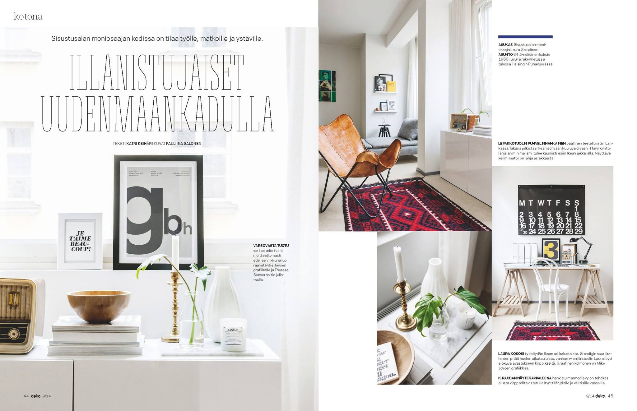 my home featured in deko magazine 9 2014. Black Bedroom Furniture Sets. Home Design Ideas